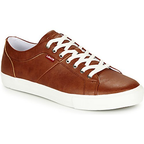 Levi's Levis  WOODWARD  men's Shoes (Trainers) in Brown. Sizes available:6,7,8,9,10,11,8,9,9.5