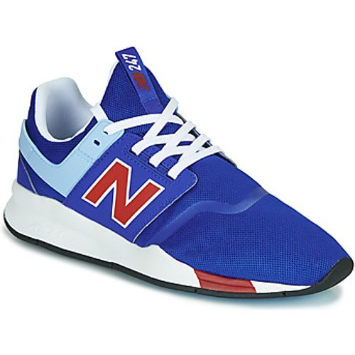 New Balance New Balance  247  men's Shoes (Trainers) in Blue. Sizes available:6.5,9.5,7,10,7.5,8.5,9,10,11.5,12.5