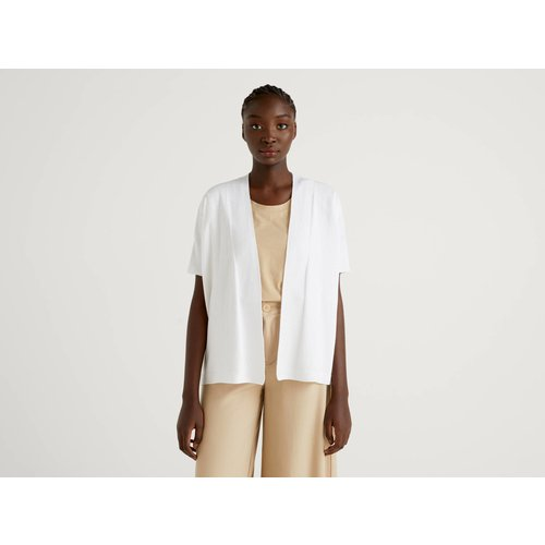 Benetton, Gilet Avec Manches Kimono, taille S, Blanc - United Colors of Benetton - Modalova