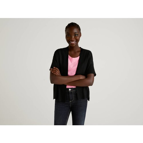 Benetton, Gilet Avec Manches Kimono, taille S, Noir - United Colors of Benetton - Modalova