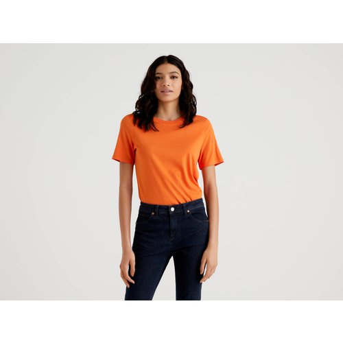 Benetton, T-shirt Uni Col Rond, taille M,  - United Colors of Benetton - Modalova