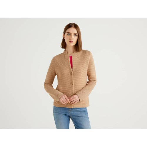 Benetton Online exclusive, Veste En Maille 100% Coton, taille M,  - United Colors of Benetton - Modalova
