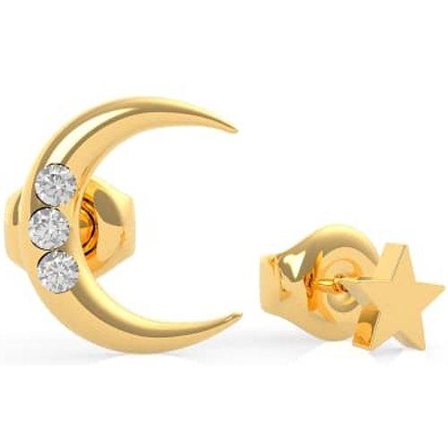 Boucles D'oreilles Get Lucky Lune Et Etoile - Guess - Modalova