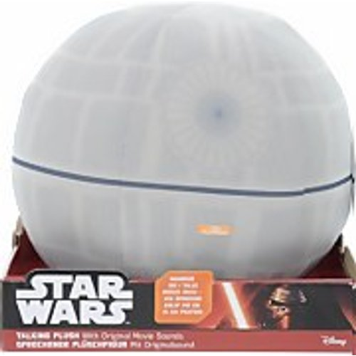"Save 40% - Star Wars Deluxe Plush - 12"" Talking Light Up Death Star"