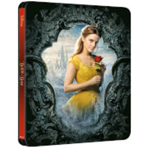Save 45% - Beauty and the Beast (Live Action) – Zavvi Exclusive 4K Ultra HD Steelbook (Includes 2D Blu-ray)