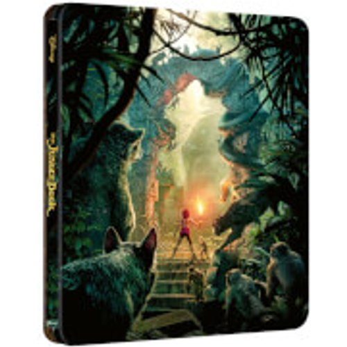 Save 45% - The Jungle Book (Live Action) – Zavvi Exclusive 4K Ultra HD Steelbook (Includes 2D Blu-ray)