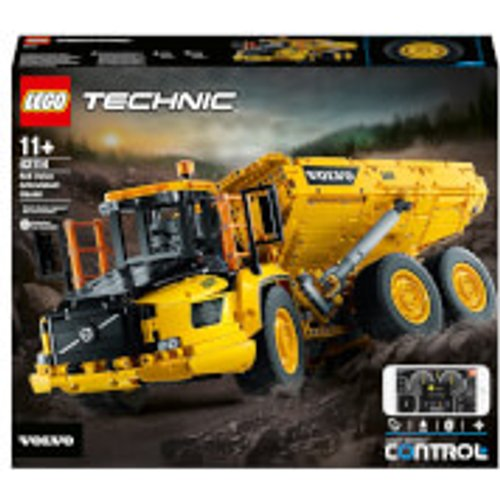 Save £45.00 - LEGO Technic: 6x6 Volvo Articulated Hauler RC Truck (42114)