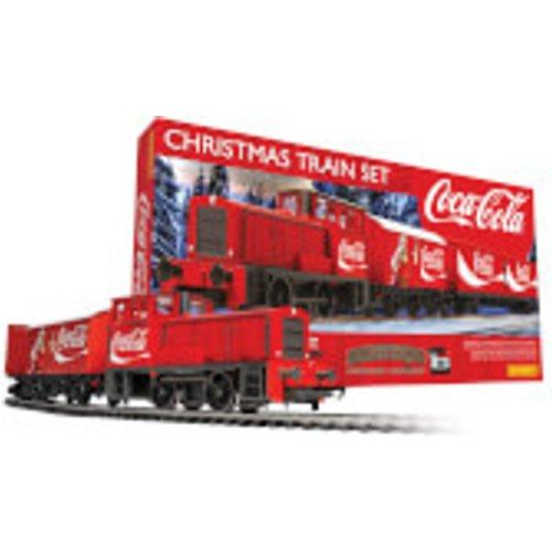 The Coca Cola Christmas Model Train Set