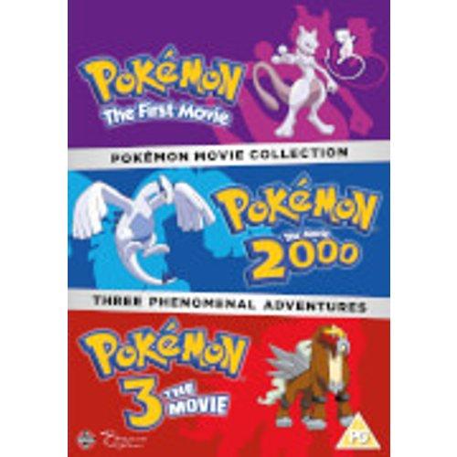 Save 60% - Pokemon Movie Collection (Pokemon The First Movie, Pokemon The Movie 2000, Pokemon 3 The Movie)