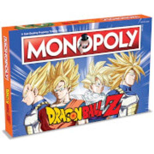 Save £5.00 - Monopoly Board Game - Dragon Ball Z Edition