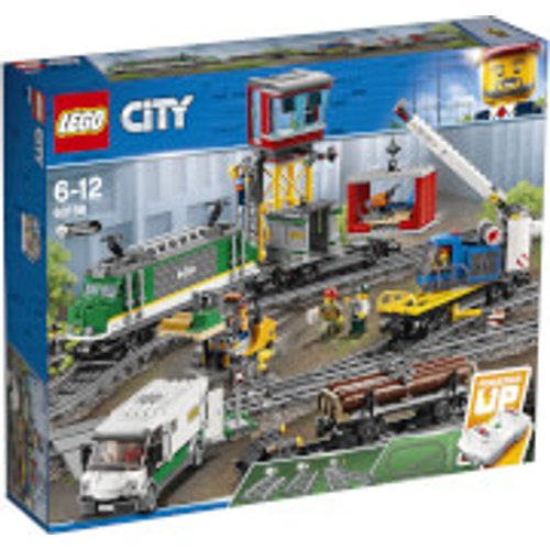 Save £40.00 - LEGO City: Cargo Train RC Battery Powered Set (60198)