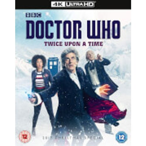 Save 43% - Doctor Who Christmas Special 2017 - Twice Upon A Time 4K Ultra HD