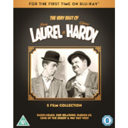 Save 37% - The Very Best Of Laurel & Hardy: 5-Film Collection