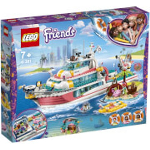 Save £20.00 - LEGO Friends: Rescue Mission Boat Toy Sea Life Set (41381)