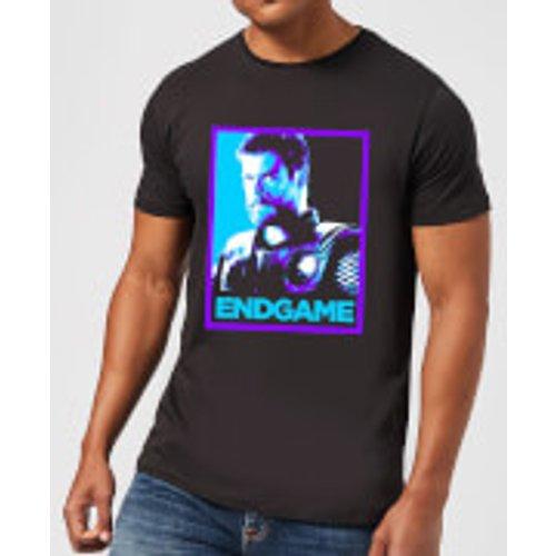 Marvel Avengers Endgame Thor Poster Men's T-Shirt - Black - XL - Black