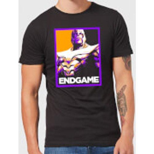 Marvel Avengers Endgame Thanos Poster Men's T-Shirt - Black - S - Black