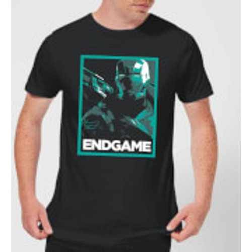 Marvel Avengers Endgame War Machine Poster Men's T-Shirt - Black - S - Black