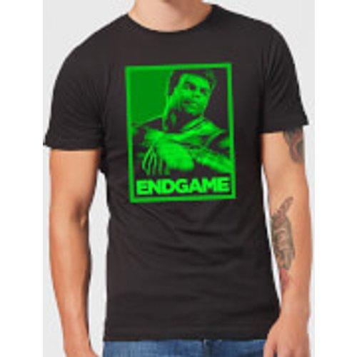 Marvel Avengers Endgame Hulk Poster Men's T-Shirt - Black - S - Black