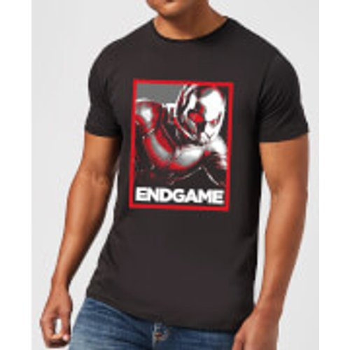 Marvel Avengers Endgame Ant-Man Poster Men's T-Shirt - Black - XXL - Black