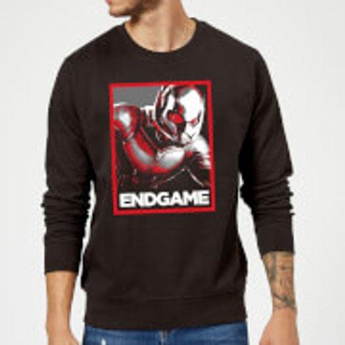 Marvel Avengers Endgame Ant-Man Poster Sweatshirt - Black - M - Black