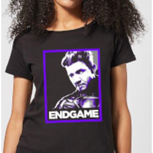 Marvel Avengers Endgame Hawkeye Poster Women's T-Shirt - Black - XL - Black