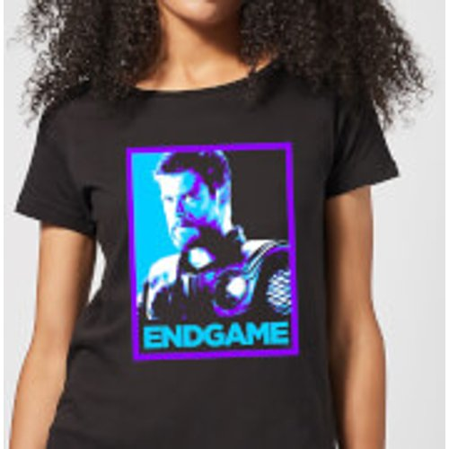 Marvel Avengers Endgame Thor Poster Women's T-Shirt - Black - XXL - Black