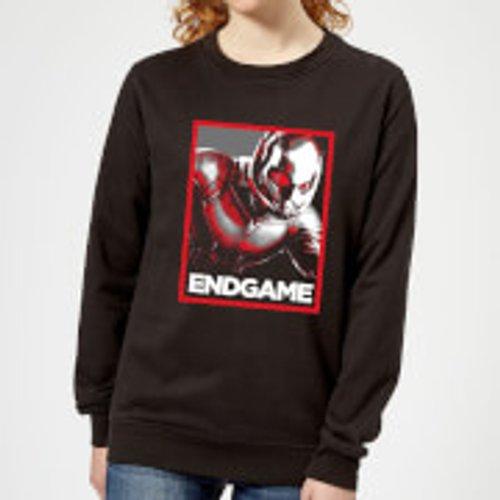 Marvel Avengers Endgame Ant-Man Poster Women's Sweatshirt - Black - XL - Black