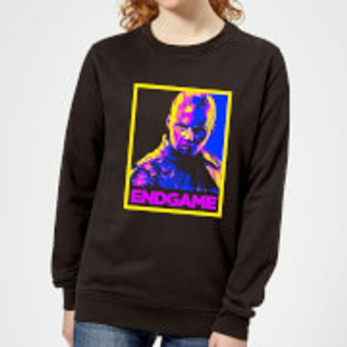 Marvel Avengers Endgame Nebula Poster Women's Sweatshirt - Black - M - Black
