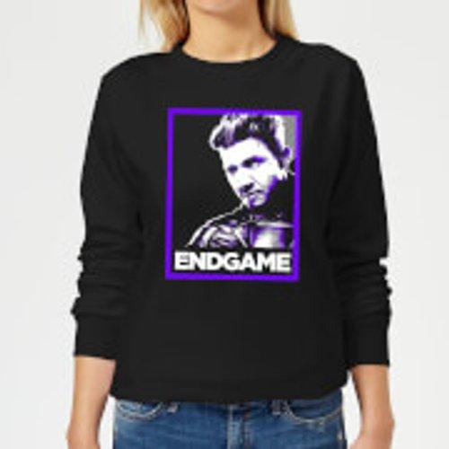 Marvel Avengers Endgame Hawkeye Poster Women's Sweatshirt - Black - XXL - Black