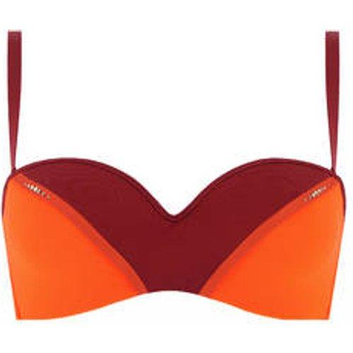 Haut de maillot de bain bandeau coques Création Solaire - LISE CHARMEL - Modalova