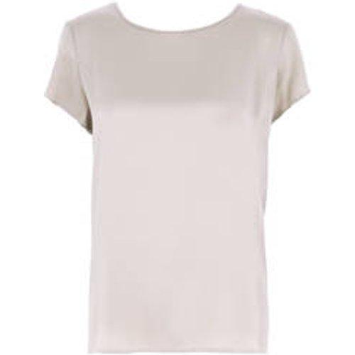 T-shirt glamour en soie Soie Stretch - OSCALITO - Modalova