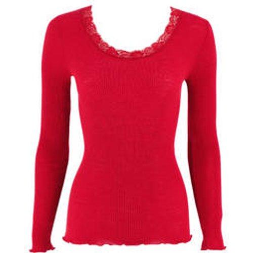 Pull en laine et soie Cortina - OSCALITO - Modalova
