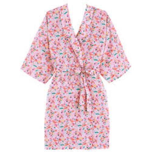 Kimono court en coton Jardin - LAURENCE TAVERNIER - Modalova