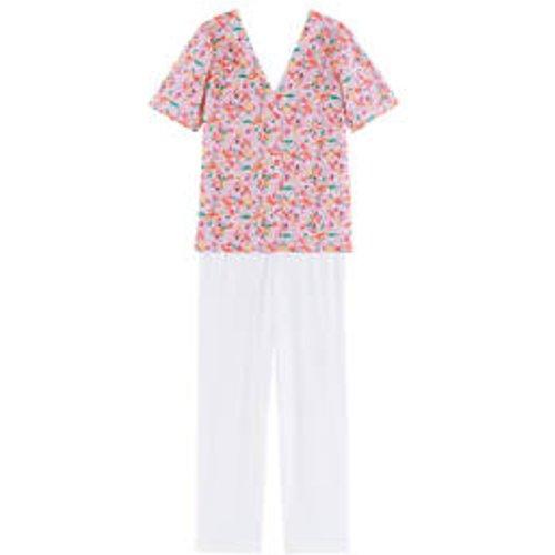 Pyjama 7/8 manches courtes en coton Jardin - LAURENCE TAVERNIER - Modalova