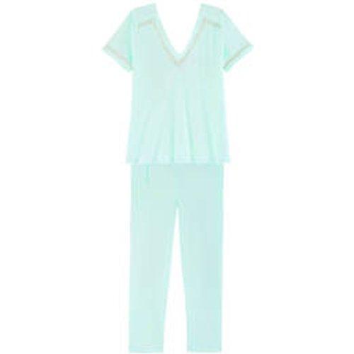 Pyjama 7/8 manches courtes en coton Conte d'Été - LAURENCE TAVERNIER - Modalova