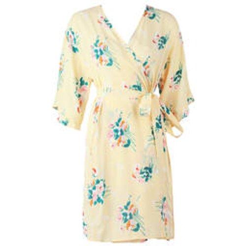 Kimono court en satin de viscose Onirique - LAURENCE TAVERNIER - Modalova