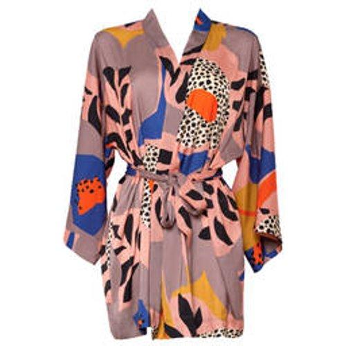 Kimono court Colorblock - MAISON LEJABY - Modalova
