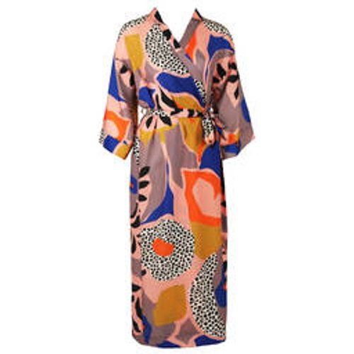 Kimono long Colorblock - MAISON LEJABY - Modalova
