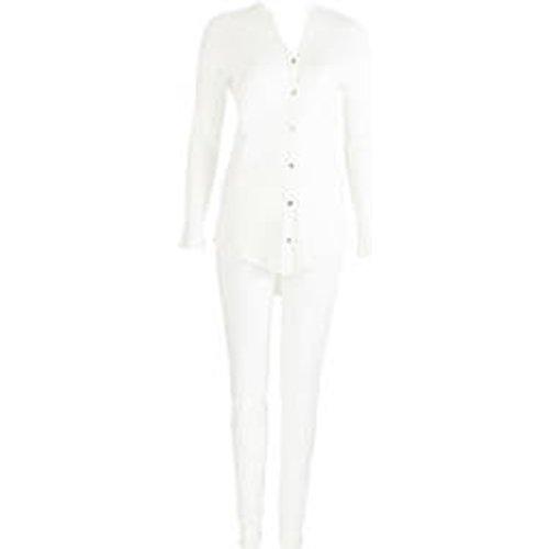 HANRO pyjama en coton Pure Essence - Hanro - Modalova