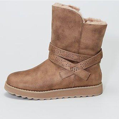 Boots en suédine fourrées doux - Skechers - Modalova