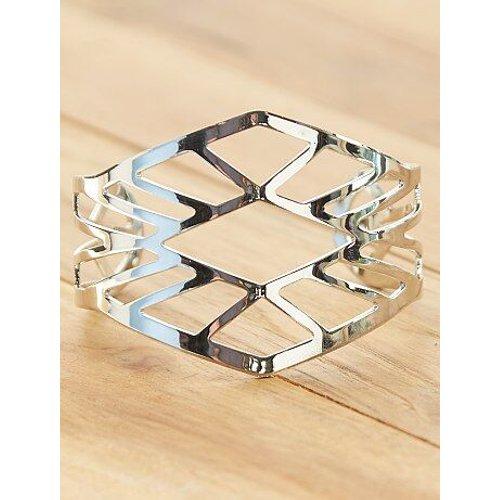 Bracelet manchette ajouré - Kiabi - Modalova