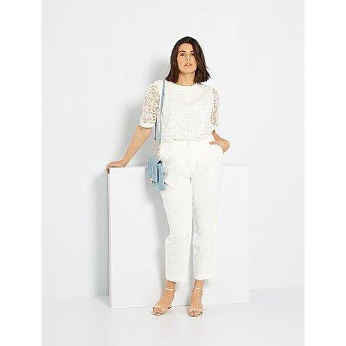 Pantalon habillé taille haute - Kiabi - Modalova