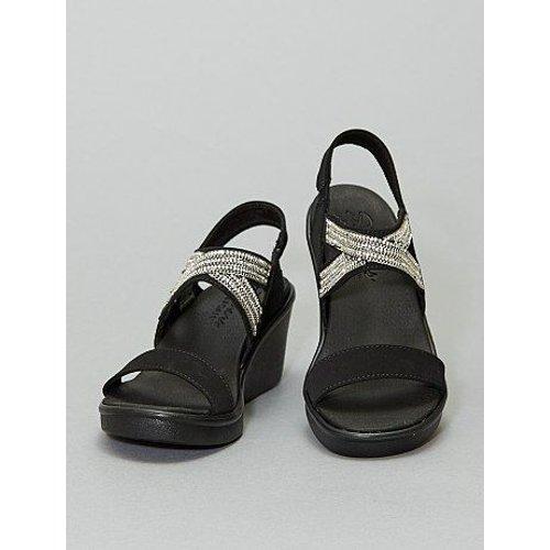 Sandales compensées à strass '' - Skechers - Modalova