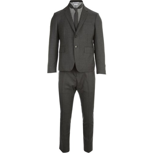 High Armhole Suit With TIE AND LOW Rise Skinny Trousers - Thom Browne - Modalova
