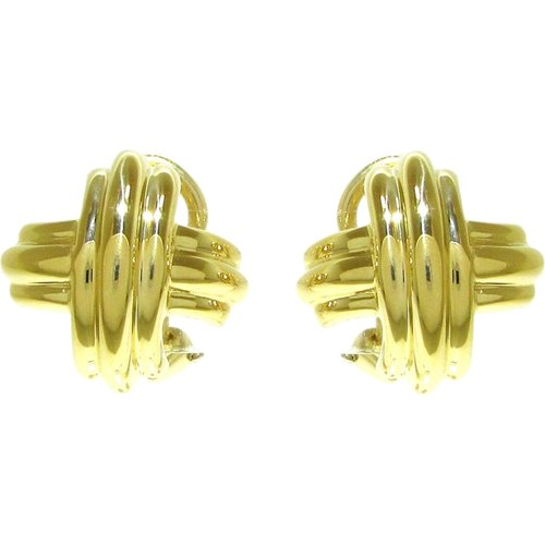 Boucles d'oreilles 18 carats , , Taille: Onesize - Tiffany Pre-owned - Modalova