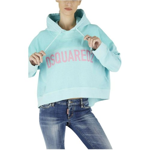 Two Tone Crop Hoodie , , Taille: S - Dsquared2 - Modalova