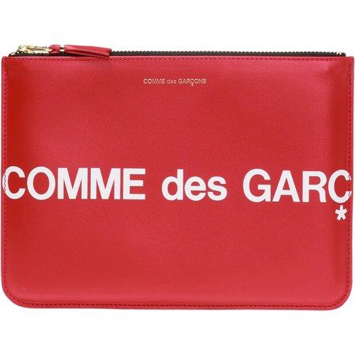 Logo-printed pouch - Comme des Garçons - Modalova