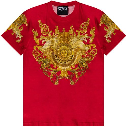 T-shirt with logo - Versace Jeans Couture - Modalova