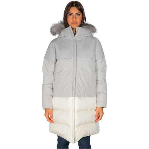 Coat With Down Ping AND Collar - add - Modalova