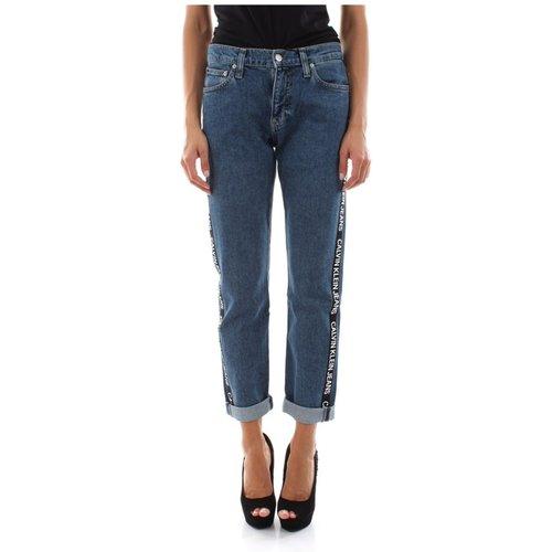 J20J211798 - 061 MID Rise Jeans Women Denim Medium Blue - Calvin Klein Jeans - Modalova